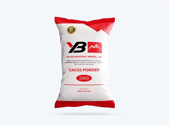 Coated Calcium Carbonate Powder 25C